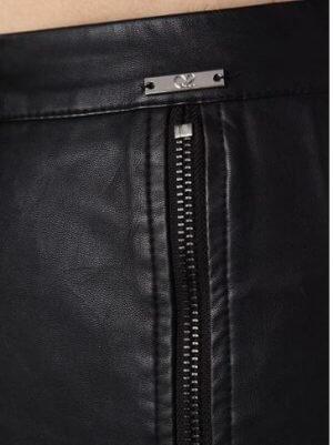 faux leather pencil