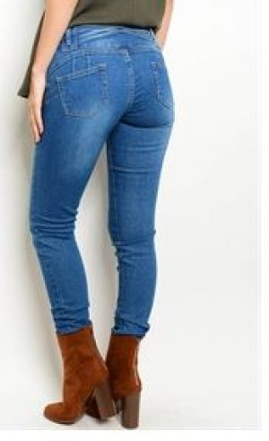 Medium Vintage Wash Skinny Jeans