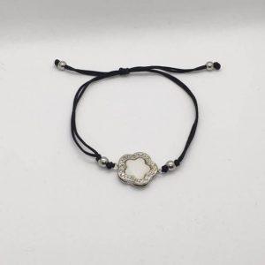 Black Thin Cord Bracelet