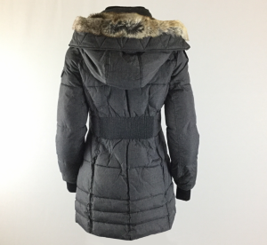 Gray Puffer Coat