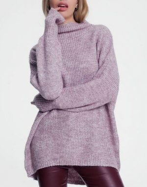 Lilac Knit Sweater
