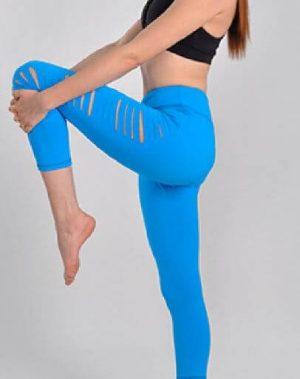 Slashed Yoga Leggings