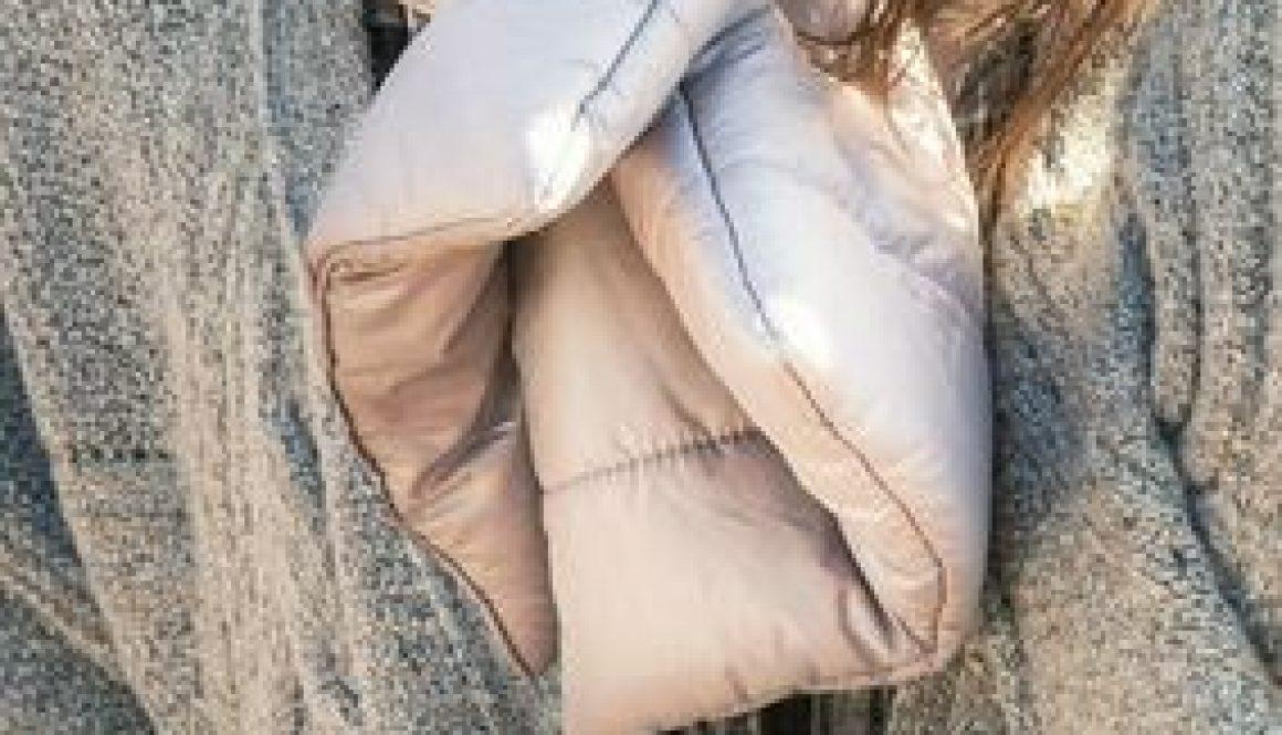 puffer scarf