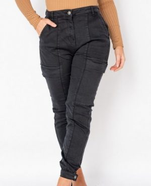 Charcoal Cargo Jeans